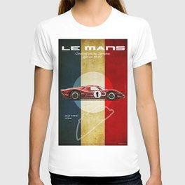 Le Mans Vintage GT40 MK IV T-shirt