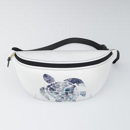 Sea Turtle - Blue Ocean Waves Fanny Pack