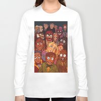 muppets Long Sleeve T-shirts featuring The Muppets by Groovy Bastard