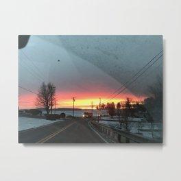 Sunrise in Brunswick Metal Print