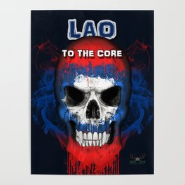 To The Core Collection: Laos Poster