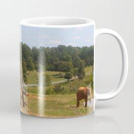 Red Elephants Coffee Mug