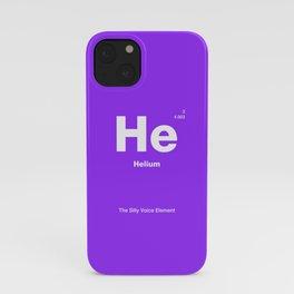 Helium iPhone Case