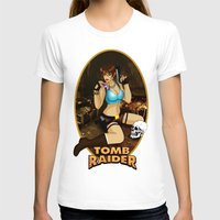 tomb raider T-shirts featuring Tomb Raider by Orphen5