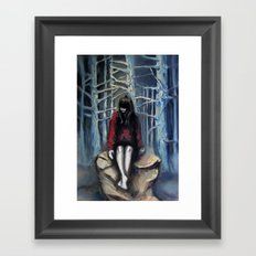 Girl #3 Framed Art Print