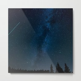 Night Sky Picture Metal Print