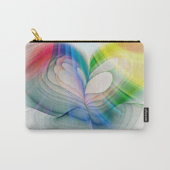 Free to Live & Love Carry-All Pouch