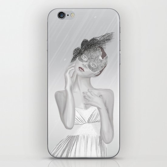 Covered in White iPhone & iPod Skin