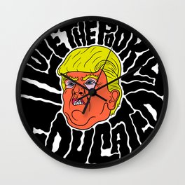 Trump loves the Poorly Educated Wall Clock