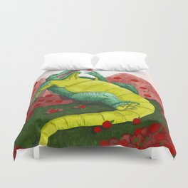 Allison's Alligator Duvet Cover