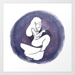 Eel Art Print