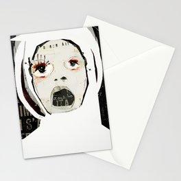 « l'enfermée » Stationery Cards