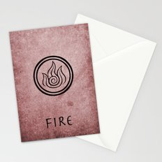 Avatar Last Airbender Elements - Fire Stationery Cards