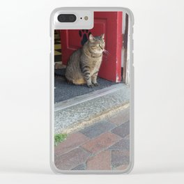 People Watching Clear iPhone Case