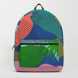 ABSTRACT JUNGLE PATTERN Backpack