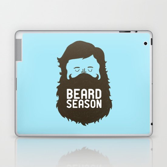 Beard Season Laptop & iPad Skin