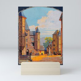 cartel Salers Canal Mini Art Print