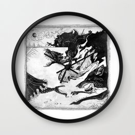 Hunted Wall Clock