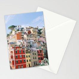 Rainbow Riomaggiore Stationery Cards