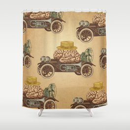 Intelligent Car Shower Curtain