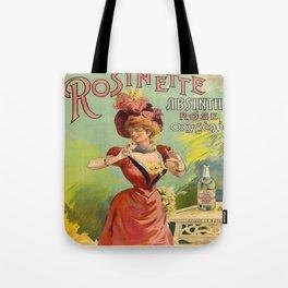 Vintage poster - Rosinette Absinthe Tote Bag