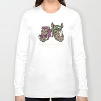 bebop Long Sleeve T-shirts featuring Bebop & Rocksteady Henchmen Academy  by Fanboy30