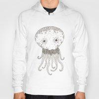 cracked Hoodies featuring Cracked Octopus by joannaciolek