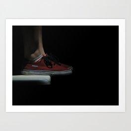 Sneak. Art Print