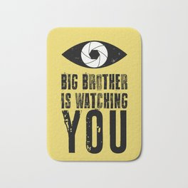 Big Brother is Watching YOU! Bath Mat