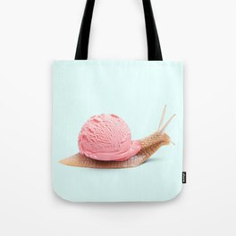 ICE SNAIL Tote Bag