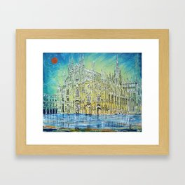 Milan Cathedral Framed Art Print