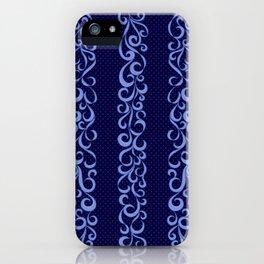Cascade in Blue iPhone Case