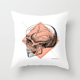 Anatomy Collection | Skull Throw Pillow