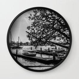 Simply Lido Isle Wall Clock