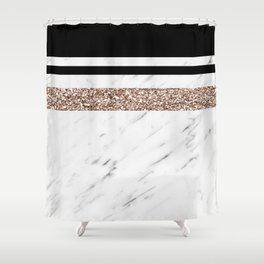 Exotica marble Shower Curtain