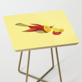 Bird With Pears Side Table