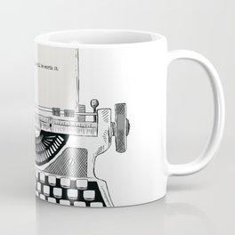 Just keep writing Coffee Mug