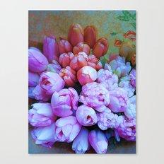 POP- Tulips Canvas Print