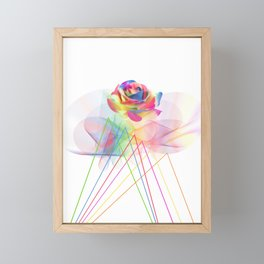 floral fragrance Framed Mini Art Print