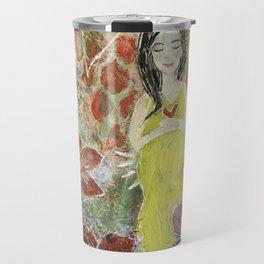 She Blooms Travel Mug