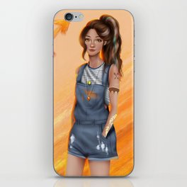 Sagittarius Zodiac Girl iPhone Skin