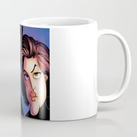 mulder Mugs featuring Files, Scully, Mulder,  by Patrick Dea