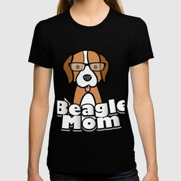 Beagle Mom Love Dog Mother's Day Gift T-shirt