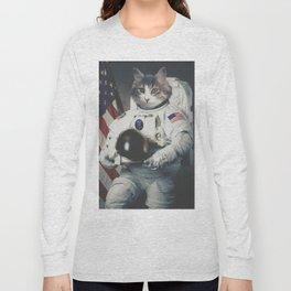 Astro Cat Long Sleeve T-shirt