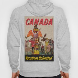 Vintage poster - Canada Hoody