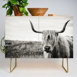 Highland Cow Credenza