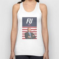 house of cards Tank Tops featuring House of Cards / Campaign Poster I by Earl of Grey