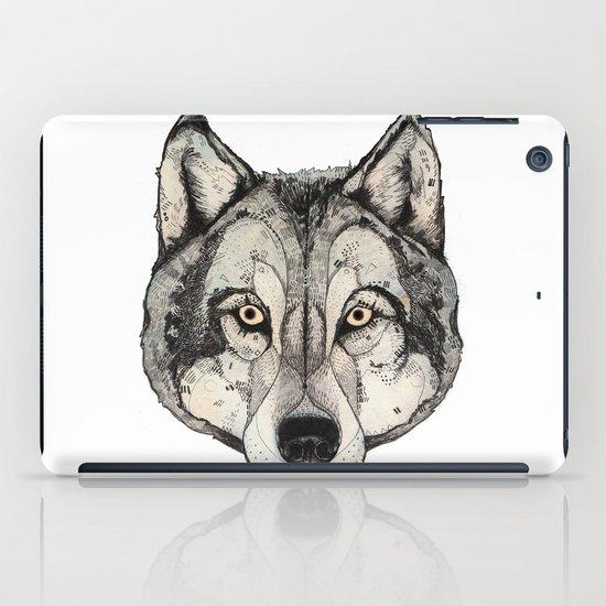 Wolf Mask iPad Case
