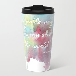 Quote  Metal Travel Mug