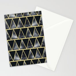 Abstract dark night Stationery Cards